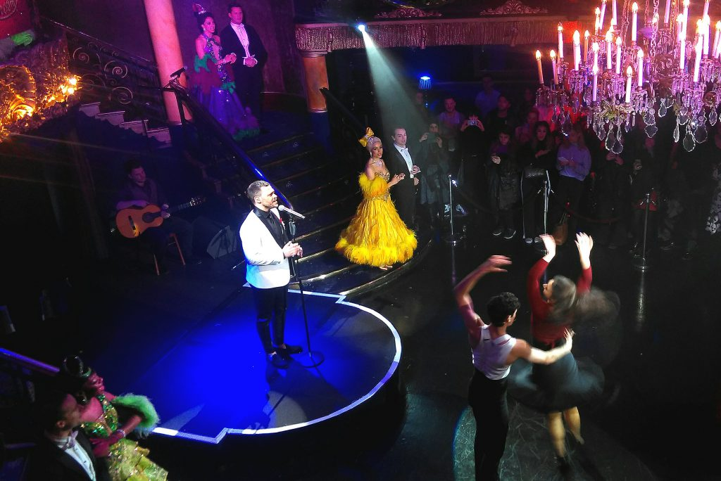 Will Young & the cast of Strictly Ballroom