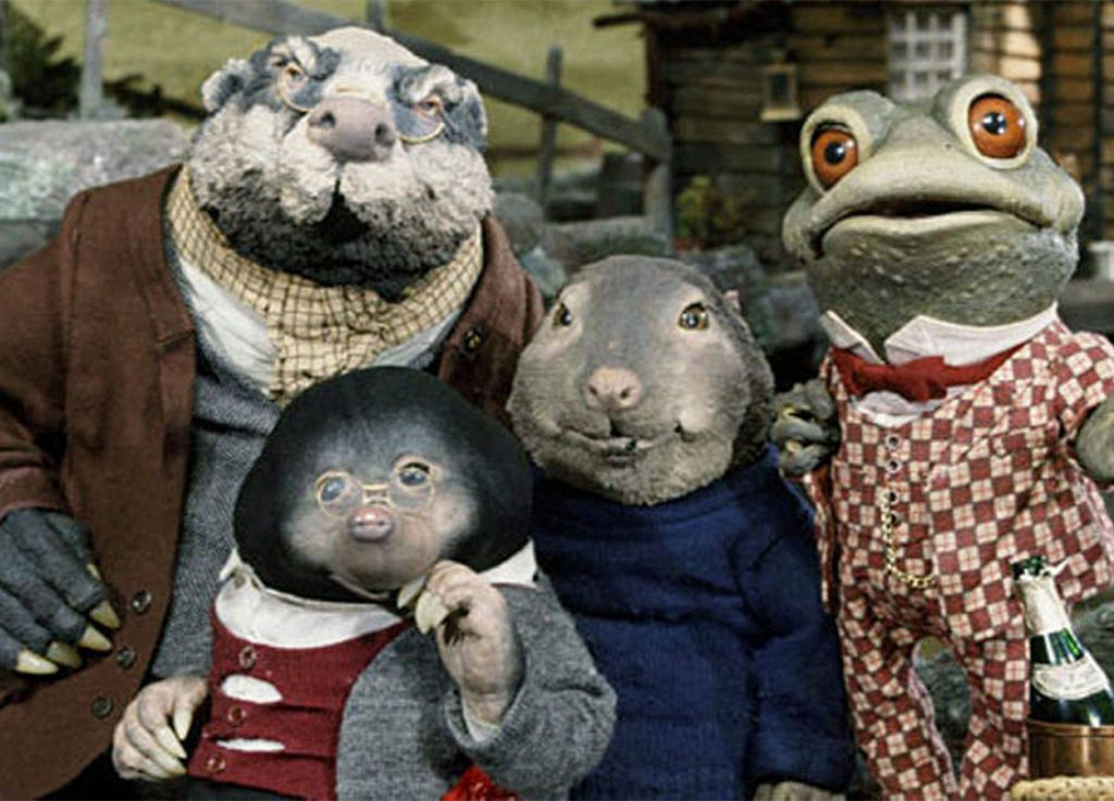 Wind in the willows animated