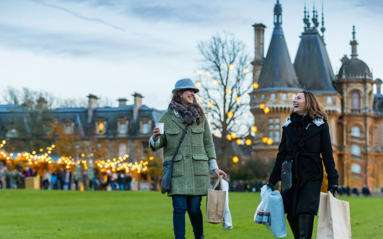 Christmas Fair at Waddesdon Manor