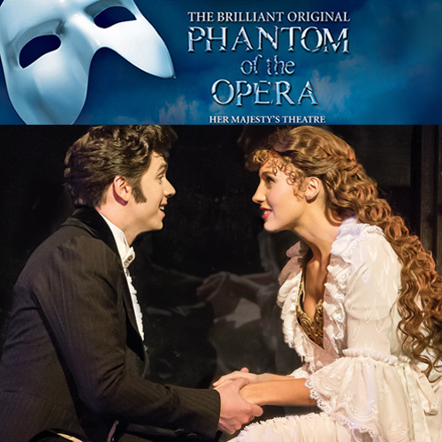 Phantom of the Opera Interview - Christine and Raoul > See