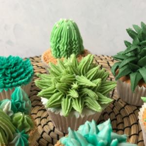 Succulent Cupcakes - Handmade Festival